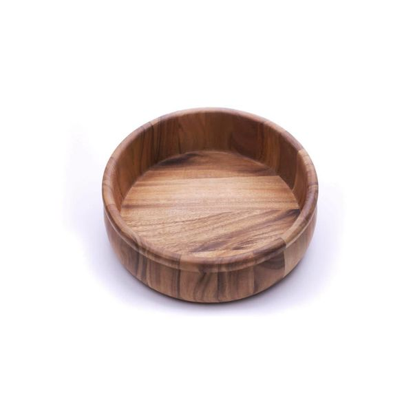 Bol Salade avec rebord 30 x 10 cm en bois d'acacia de Ironwood