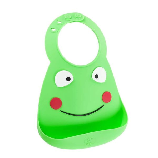 Make My Day Baby Bib - Frog