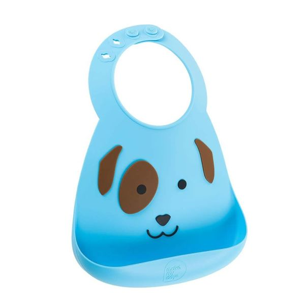 Make My Day Baby Bib - Puppy Love