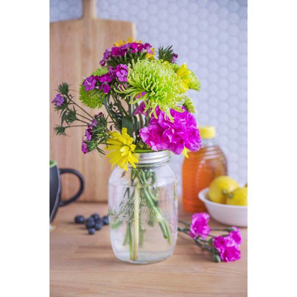 Couvercle décoratif fleurs de Jarware
