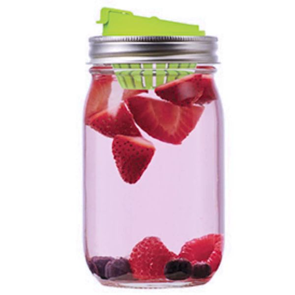 Jarware  Regular Mouth Fruit Infusion Lid