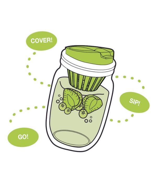 Jarware Couvercle infusion de fruits de Jarware