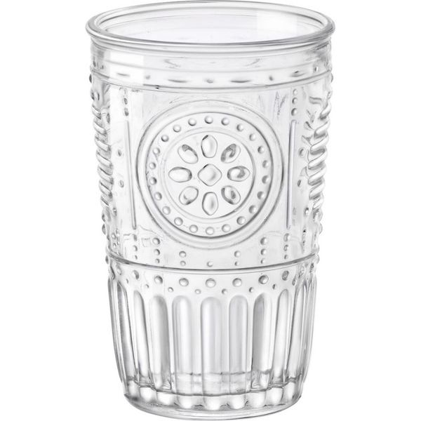 Bormioli Set of 4 Romantic Tumblers