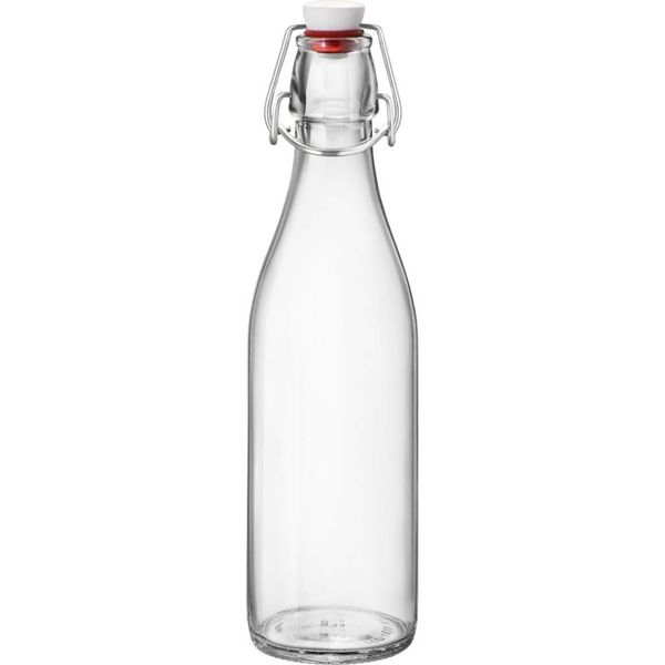 Bormioli Giara Clear Bottle with Stopper