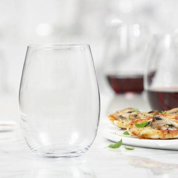 Trudeau Bohemia Set of 4 Splendido Stemless Wine Glasses