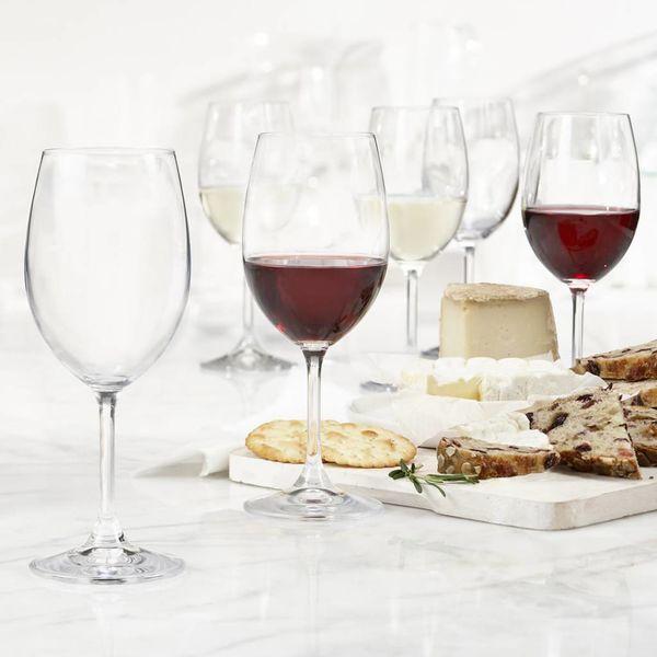 Ensemble de 6 verres à vin universels Serene de Bohemia