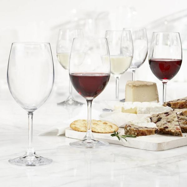 Trudeau Bohemia Set of 6 Serene Universal Wine Glasses