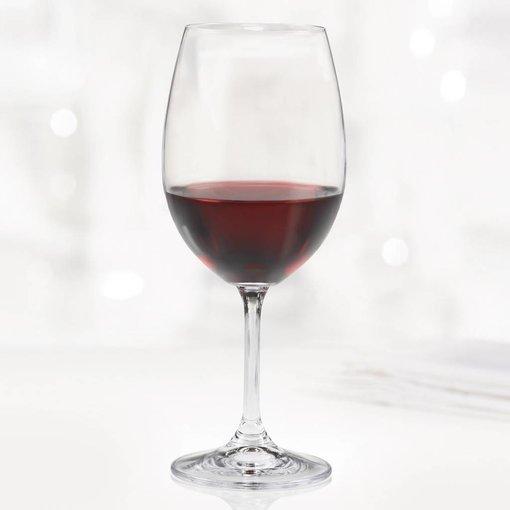 Bohemia Ensemble de 6 verres à vin rouge Serene de Bohemia
