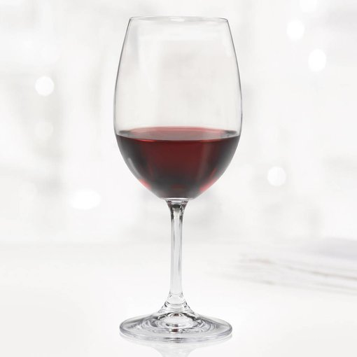 Bohemia Trudeau Bohemia Set of 6 Serene Red Wine Glasses