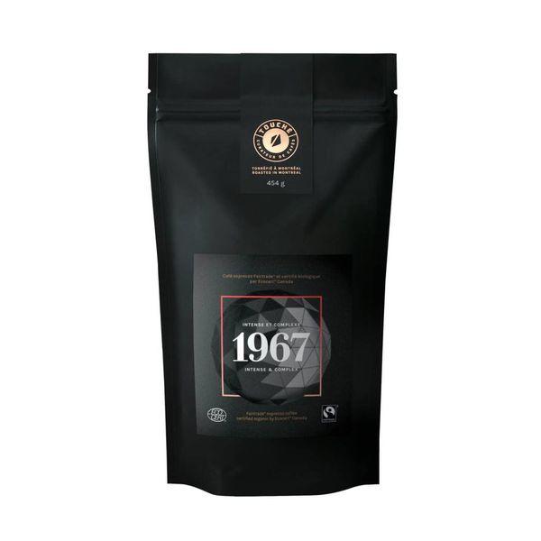 Café espresso en grain bio-équitable TOUCHÉ!, 454gr. Intense de Jura