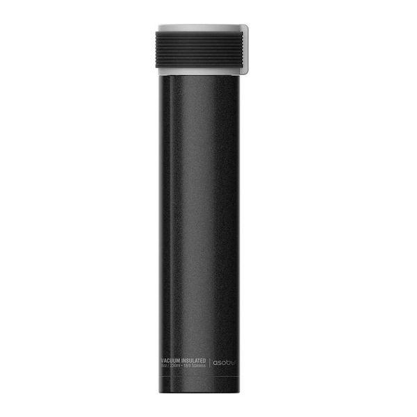 Bouteille thermique 230ml noir ''Skinni Mini'' de Asobu