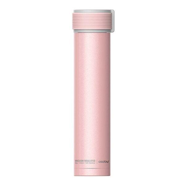 Bouteille thermique 230ml rose ''Skinni Mini'' de Asobu