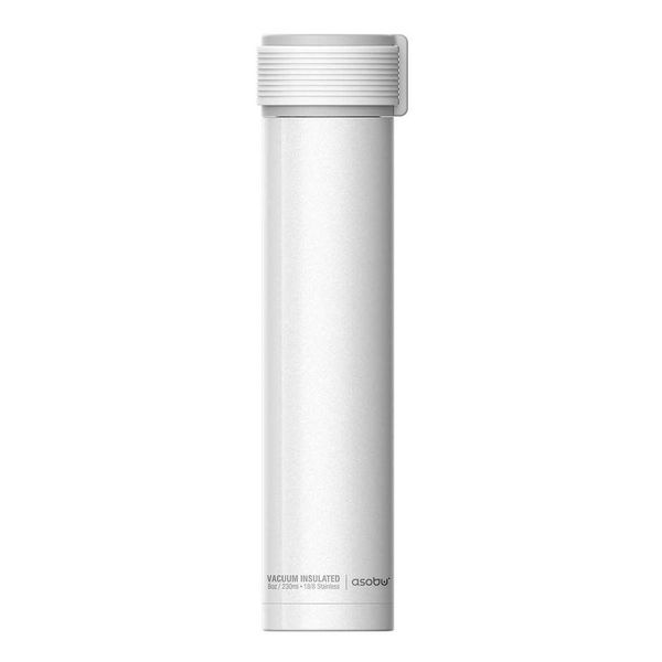 "Asobu ""Skinni Mini"" 230 ml White Water Bottle"