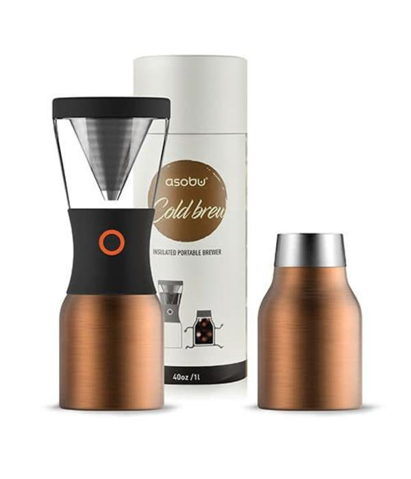 Asobu Asobu Cold Brew Coffee Maker with Thermal Pot, Copper