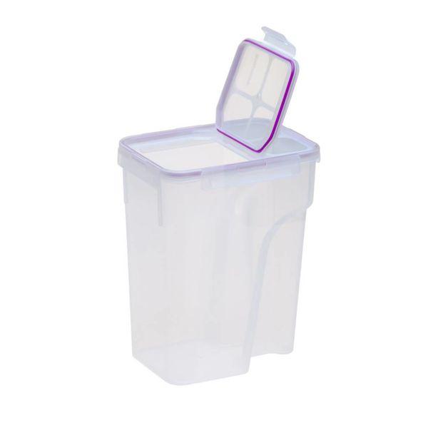 Contenant en plastique 22.8-tasses avec couvercle rabattable hermétique de Snapware