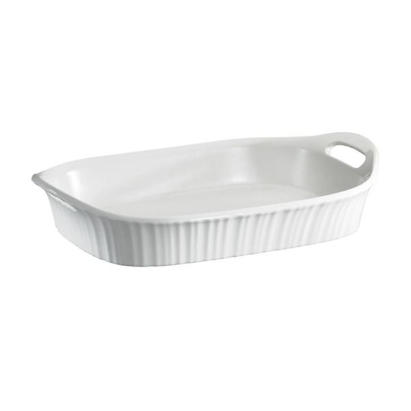 Casserole rectangulaire 2.8L French White de CorningWare