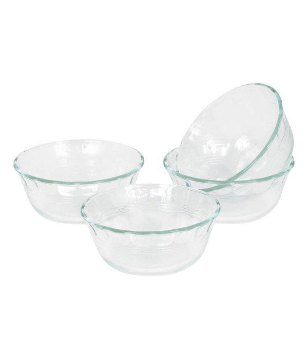 Pyrex 10 Oz Desert Dish Set/4 ( F )