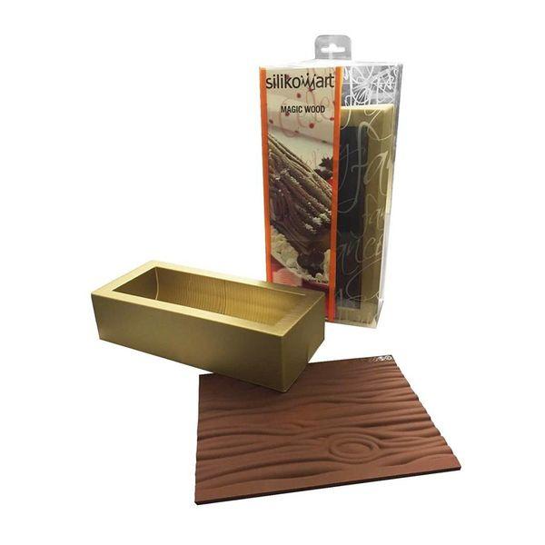 Silikomart Yultide Log Silicone Mold