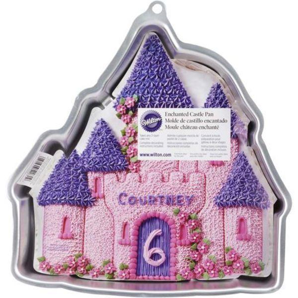 Moule à gâteau en forme de château enchanté de Wilton