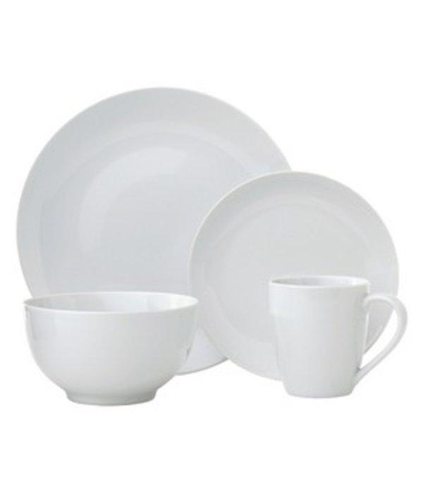 H2K 16-Piece Dinnerware Set (White)