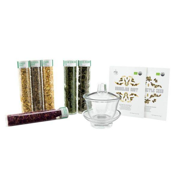 Detox Tea – Kit de thés verts Bio à mélanger soi-même de TIY