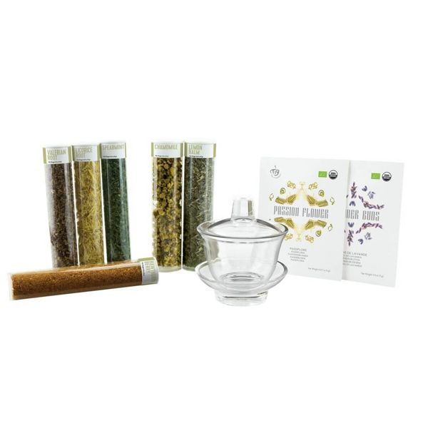 TIY No Stress - Organic Herbal Infusion Kit