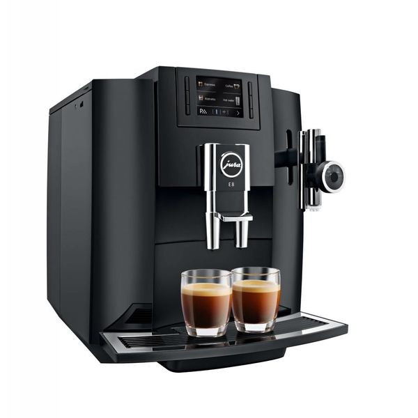Jura E8 Black Automatic Espresso Machine