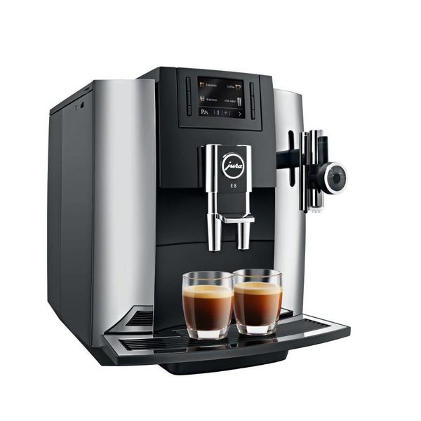 Jura E8 Chrome Automatic Espresso Machine