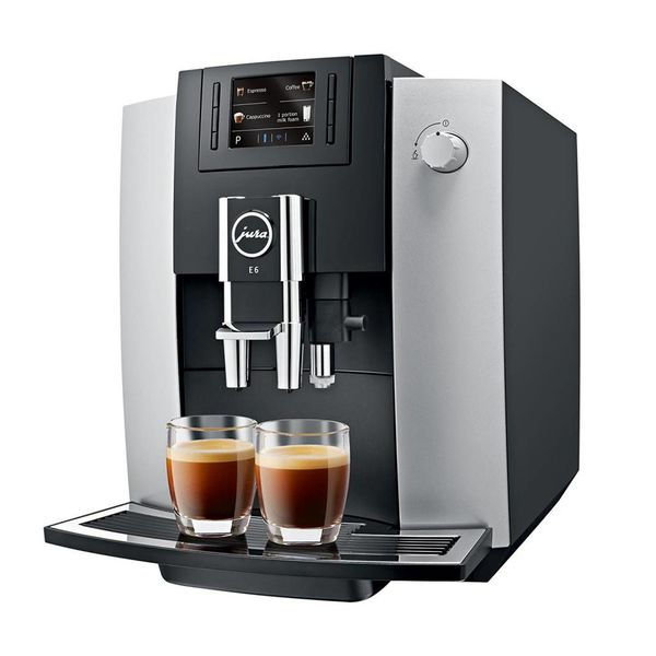 Jura E6 Platinum Automatic Espresso Machine