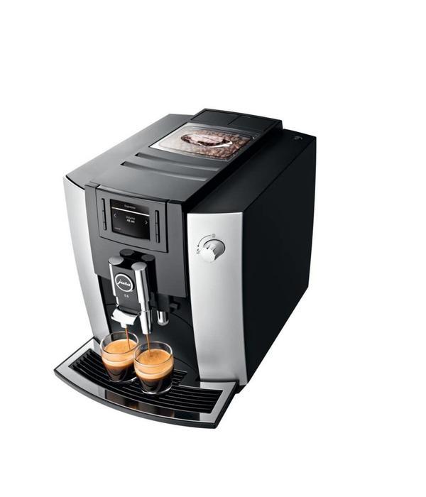 Jura Machine à espresso automatique E6 Platine de Jura