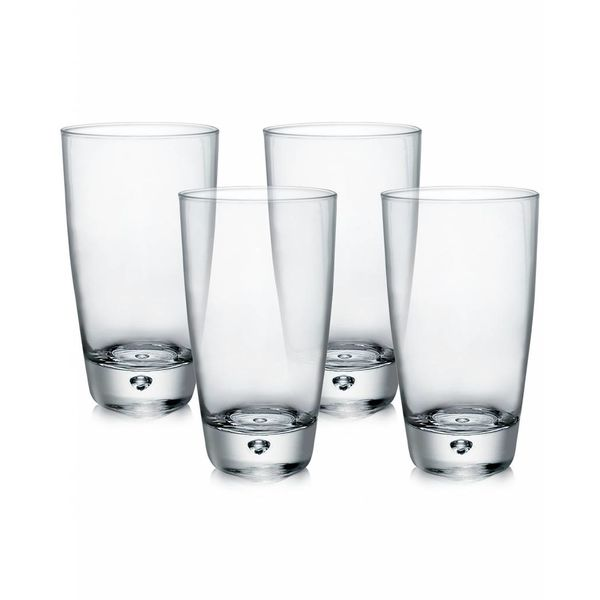 Bormioli Set of 4 Luna High Ball Glasses