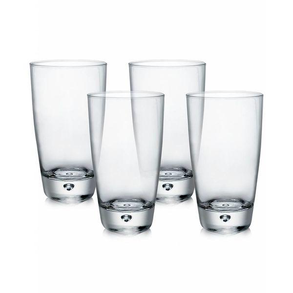 Bormioli Set of 4 Luna High Ball Glasses