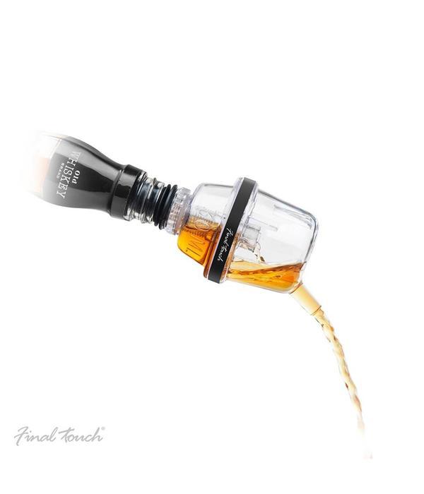 Final Touch Final Touch Pro-Measure, Dual-Chamber Liquid Bottle Pourer