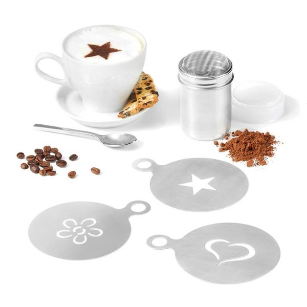 Starfrit Stencil and Shaker Set