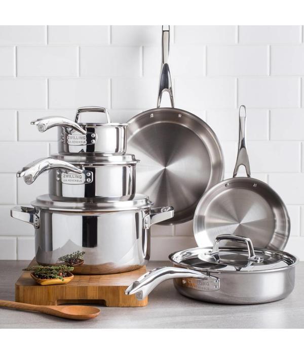Zwilling J.A. Henckels Henckels TruClad 10 Piece Cookware Set