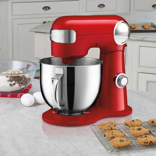 Cuisinart Precision Master™ 5.5 Qt (5.2L) Stand Mixer (Red)