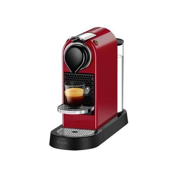 Machine à capsules d'espresso Citiz rouge de Nespresso