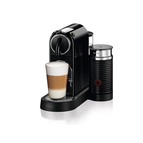 Nespresso Citiz Capsule Espresso Maker with Aeroccino (black)