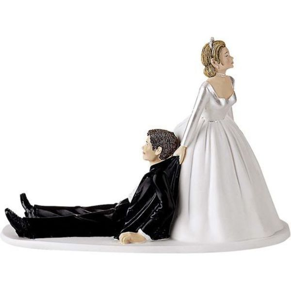 Wilton NOW I HAVE YOU WEDDING CAKE TOPPER
