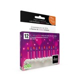 Rainbow Moments Rainbow Moments COLORED FLAME BIRTHDAY CANDLES (12 PACK)