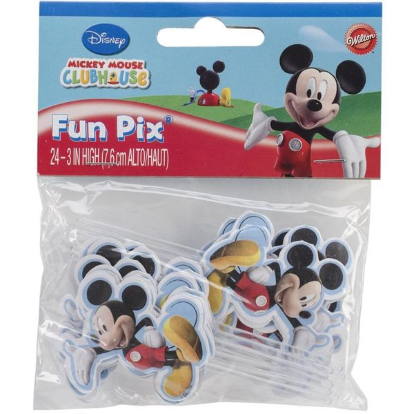 Wilton  Mickey Mouse Clubhouse Cupcake/Cake Fun Pix