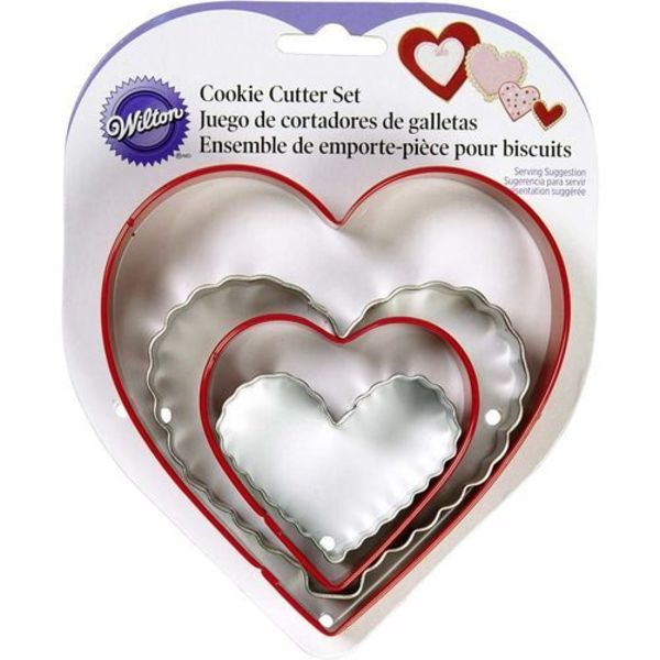 Wilton NESTING HEART COOKIE CUTTERS