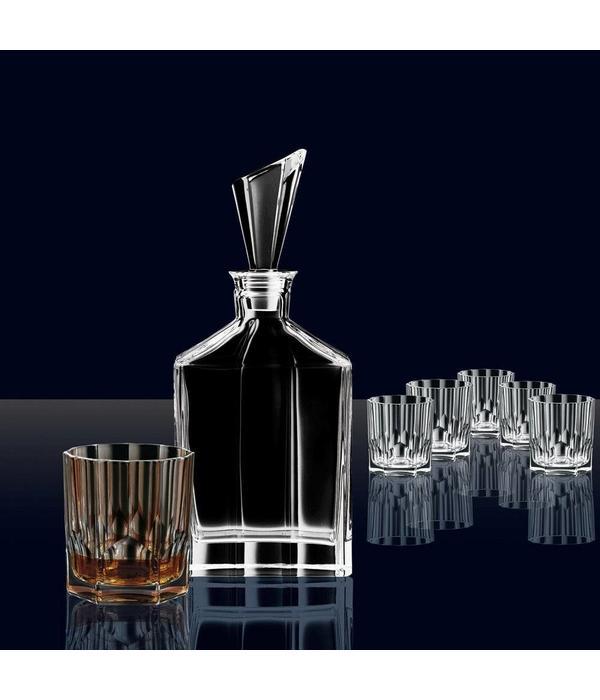Nachtmann Ensemble de 6 verres à Whisky et Décanteur de Nachtmann