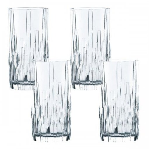 Nachtmann Nachtmann Set of 4 Shu Fa Hi-Ball Glasses