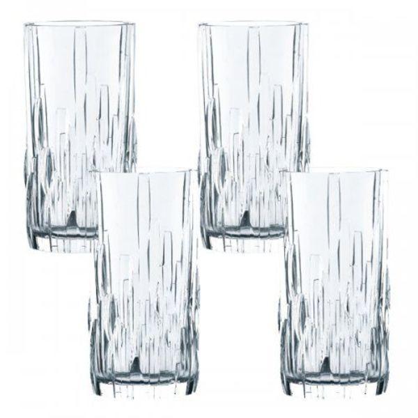 Nachtmann Set of 4 Shu Fa Hi-Ball Glasses