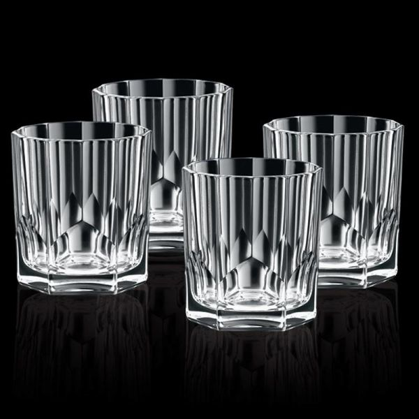 """Ensemble de 4 verres de Whiskey """"Aspen"""" de Nachtmann"""