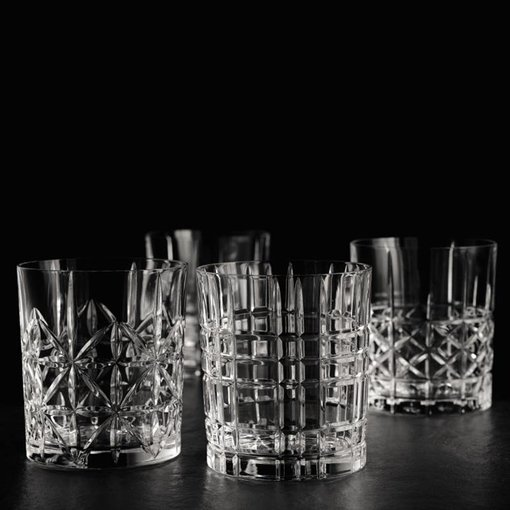 Nachtmann Nachtmann Set of 4 Highland Whiskey Tumblers