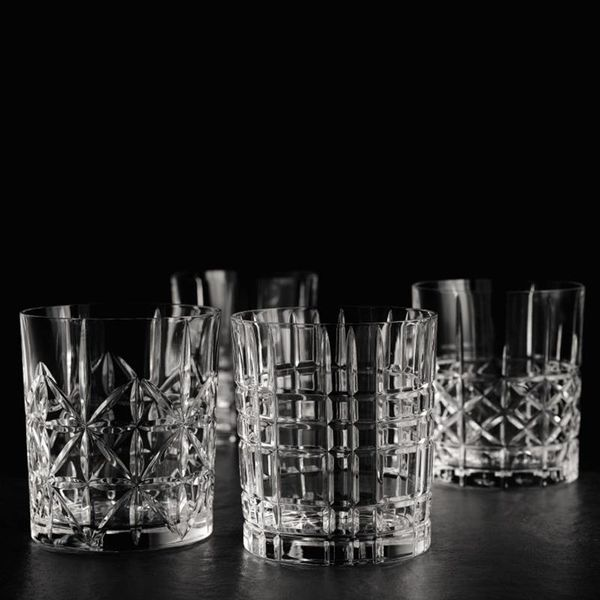 Nachtmann Set of 4 Highland Whiskey Tumblers