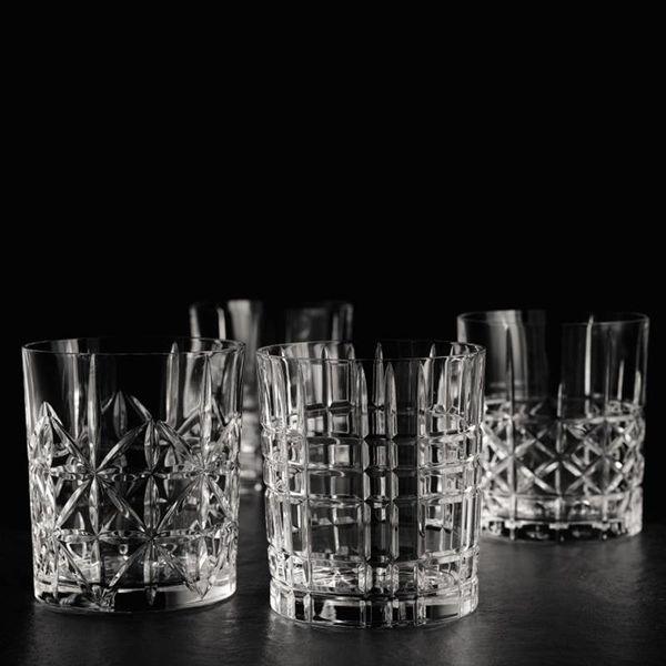 Nachtmann Set of 4 Highland Whiskey Tumblers