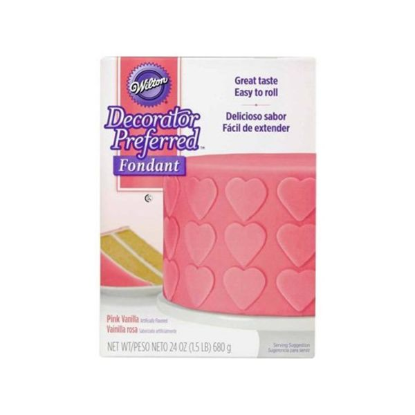 Wilton® Decorator Preferred™ Fondant, Pink Vanilla